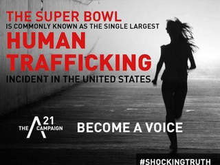 super bowl campaign targets human trafficking