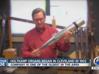 Cleveland organmaker in its 111th year