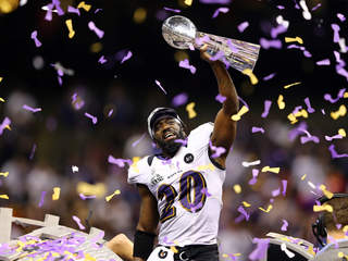 Ravens, Super Bowl 47, Ed Reed