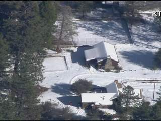 Big Bear manhunt cabin
