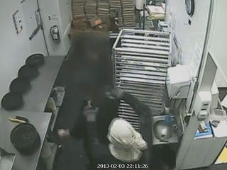 Little Caesars Pizza robbery, Akron, Feb. 3, 2013
