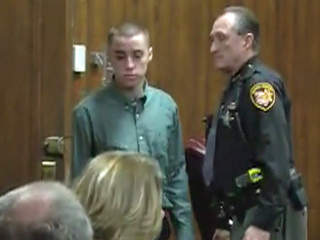 TJ Lane appears in court on Feb. 26, 2013