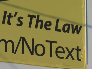 Texting and driving ban starts Friday