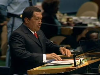 FILE: Hugo Chavez at the UN