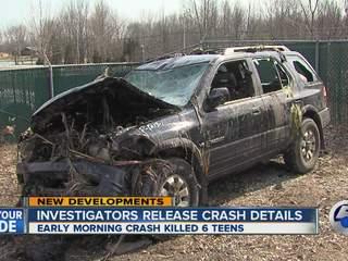 Honda Warren Ohio ... crashes, kills 6 teens in Warren when car goes off road and in swamp