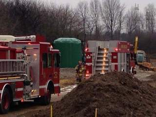 Chippewa Township oil tank fire