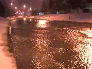 Raw: Naiman Parkway water main break
