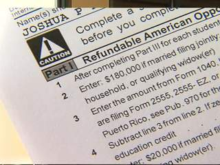 Refunds delayed due to IRS form issue