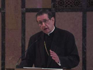 Cleveland Bishop Lennon talks about papal visit