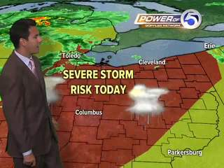 Wednesday's morning weather brief