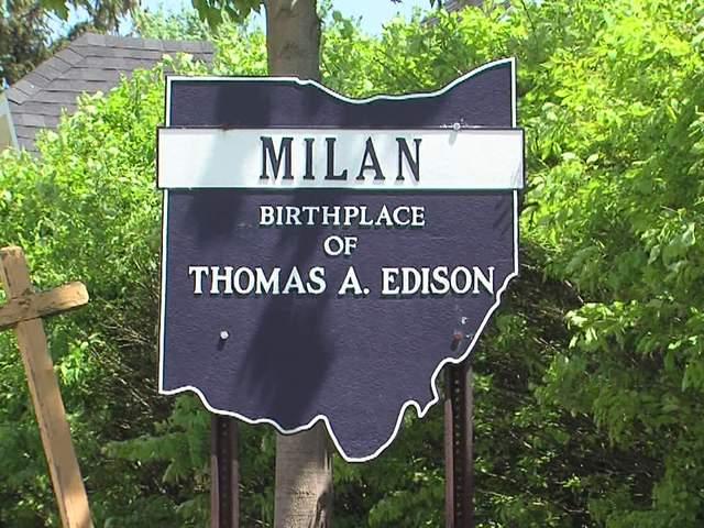 Milan Ohio Birthplace Of Thomas Edison Provides Lighted Path To - Milon ohio on the us map
