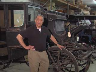 Wagon mechanic rolls out buggies