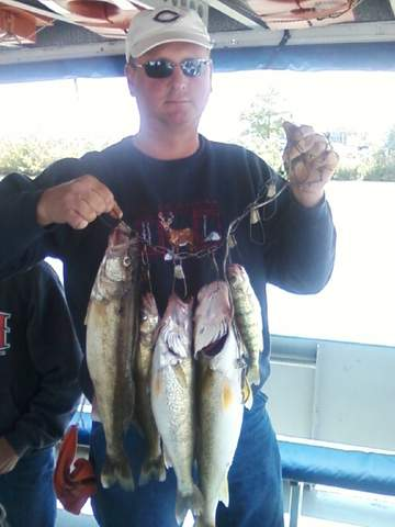 Northeast ohio fishing report walleye biting from toledo for Cleveland fishing report