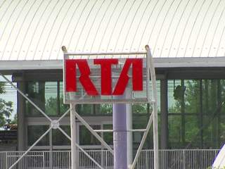 RTA rail service modified due to Innerbelt