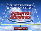 Play our college football contest