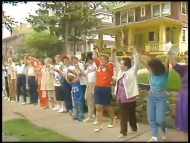 video vault hands across america human chain coast to coast and