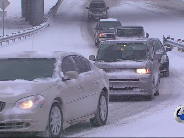 Winter Cleveland Ohio