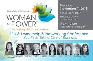 Woman of Power Networking conference