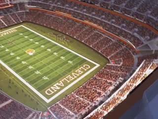 MAP: Browns, Indians, Gladiators weekend parking