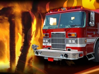 Caldwell house fire contained
