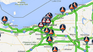 Traffic maps and incident reports