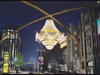 Work begins on new PlayhouseSquare chandelier