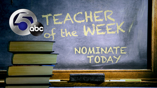 Nominations: Teacher of the Week