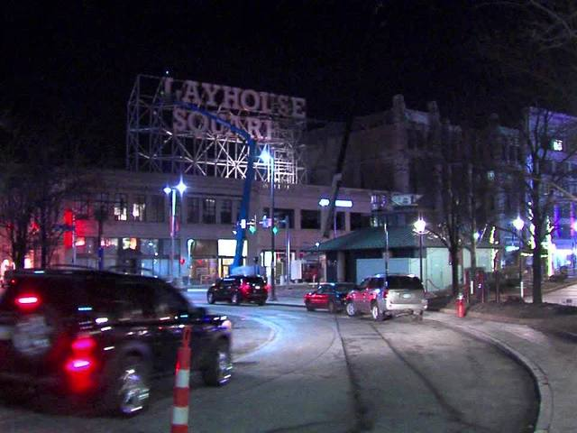Raw: Playhouse Square sign