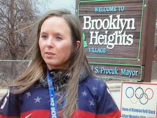 Olympian Kelli Stack honored by Brooklyn Heights