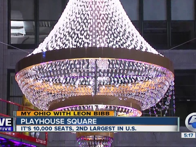 My Ohio: Lighting giant chandelier in Cleveland's Playhouse Square…