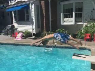 Impossible Vine dive video explained