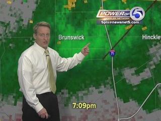 WATCH: Mark Johnson explains Brunswick tornado