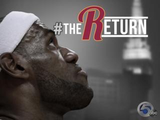 LeBron returns to Cleveland