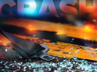 Woman hit in Grand Chute crash