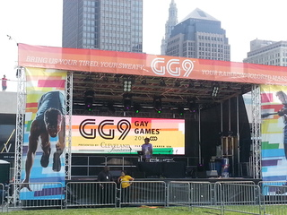 Tuesday's events: Gay Games in Cleveland & Akron