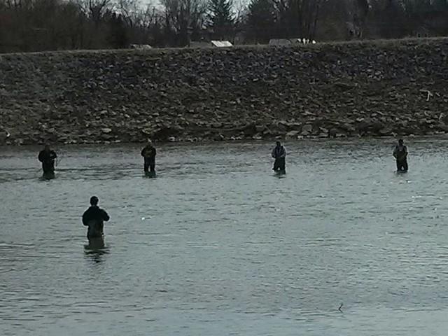 Walborn reservoir ohio fishing report for Fishing in ohio
