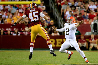 Browns vs. Redskins preseason game