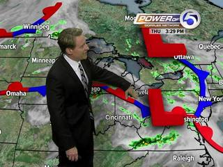 Forecast: More storms likely overnight Thurs.