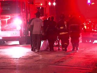 Man rescued from fire on Cleveland's east side