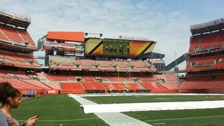 Tour of new renovations to FirstEnergy Stadium