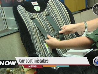 Checking YOUR kids car seat is important