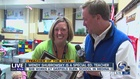 Medina teacher surprised as Teacher of the Week