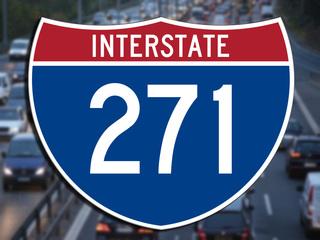Interstate 271 construction postponed