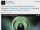 Anonymous claims they crashed CLE's website