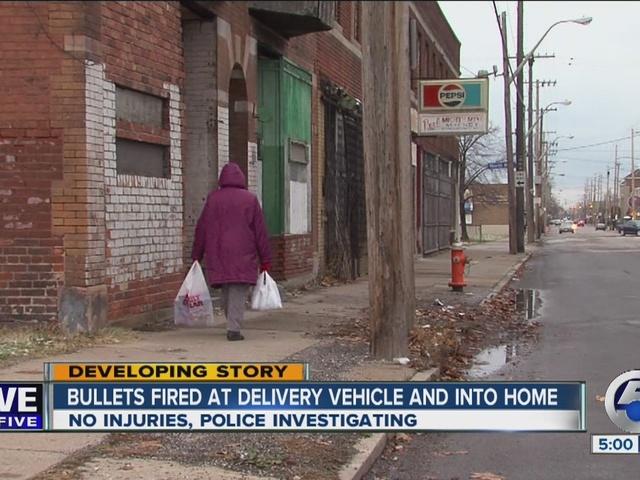 WITNESS: Shots fired at Thanksgiving deliverer
