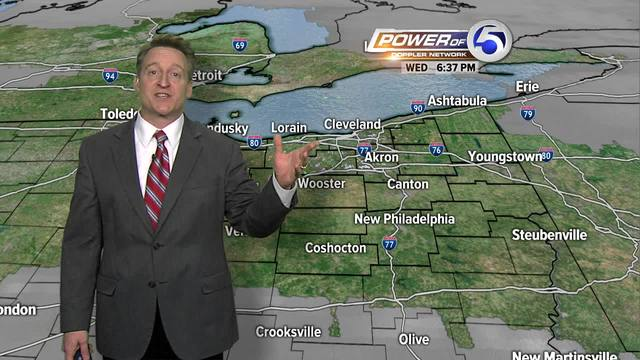 Todays forecast latest power of 5 weather updates - newsnet5.com