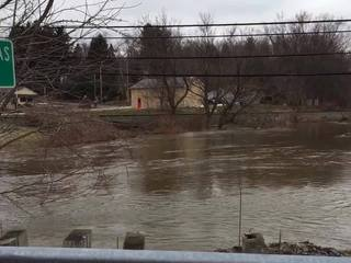 THAW BLOG: Flooding in Clinton, Canal Fulton