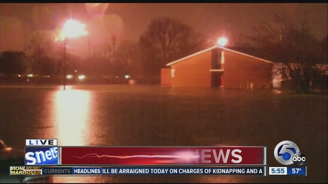 More than 100 water rescues in Louisville, Ky. as heavy rains cause ...