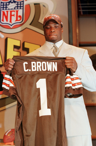 Image result for courtney brown draft