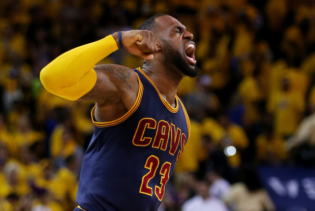 LeBron James challenges Cleveland Cavaliers fans to be ...
